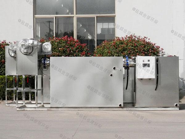 火锅店大埋地机械一体隔油提升设备哪家质量好