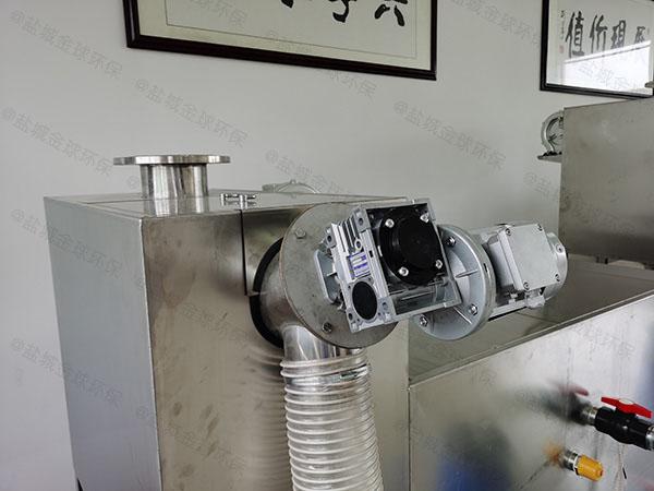 家用中小型地面式智能化油脂分离器技术公司