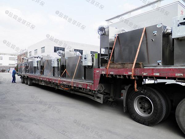 中餐埋地式大型自动排水油水分离机设备属于什么类