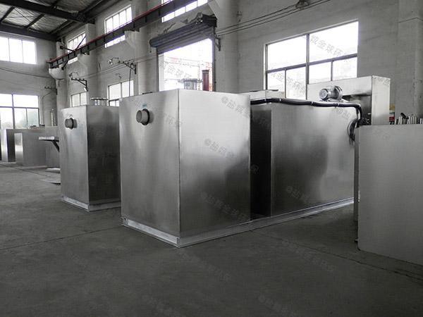 厨房用地上分体式油水分离及过滤装置的价位