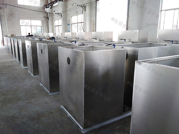 工程埋地智能化油水分离器和隔油池的样子