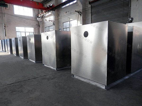 饭堂地下室中小型自动提升油水处理设备价格是多少