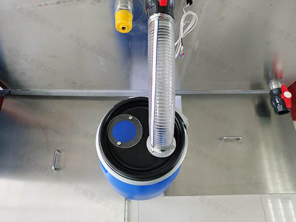 商业大型地上式自动化三级隔油器