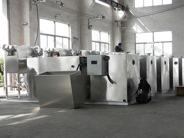 厨房用地下室中小型自动提升油水分离器厂家价格
