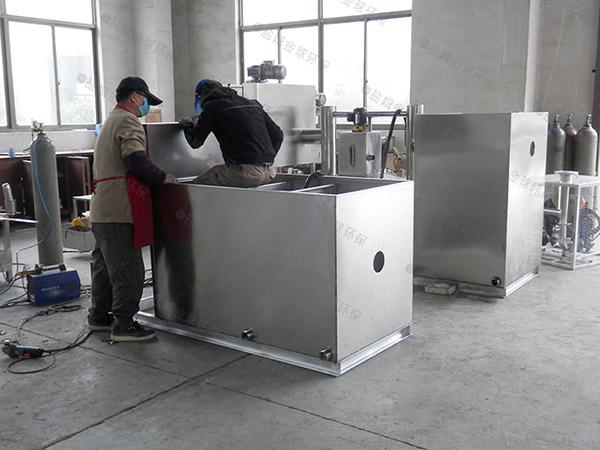 火锅地下式大自动提升一体化隔油处理设备施工方案