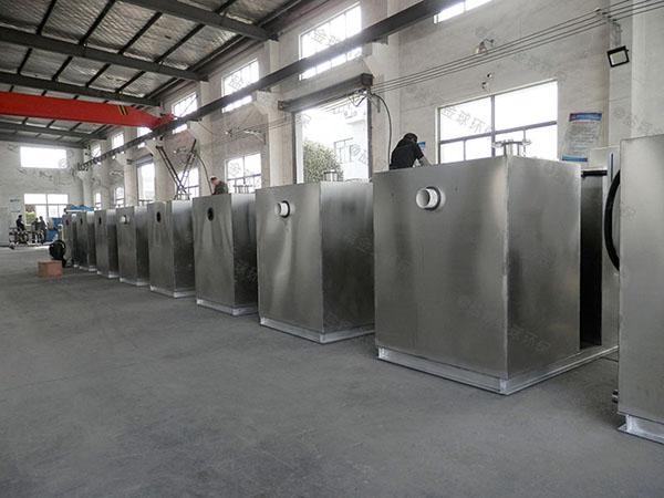 饮食业大地下室分体式油水分离处置设备规格价格