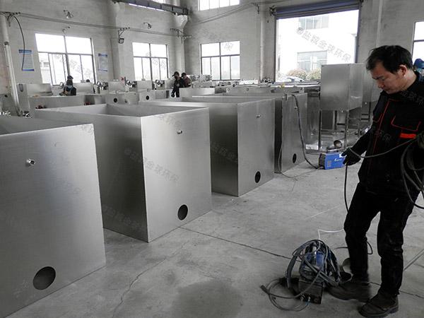 餐厅室内大自动提升隔油一体化设备需要多少钱