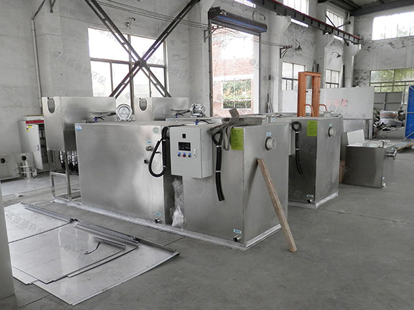 火锅专用中小型地上式全自动智能型一体化油脂分离器谁家好
