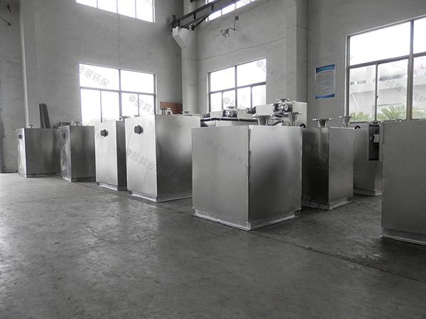 饮食业户外机械油水分离设备规格型号表