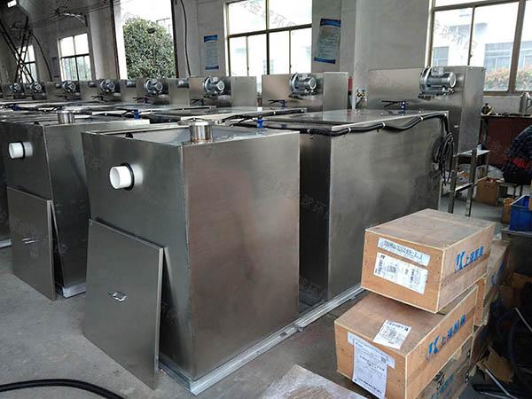 厨房用埋地式大移动式除渣隔油一体机规格型号表