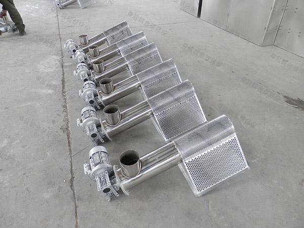 商场户外分体式隔油一体化提升设备应用范围