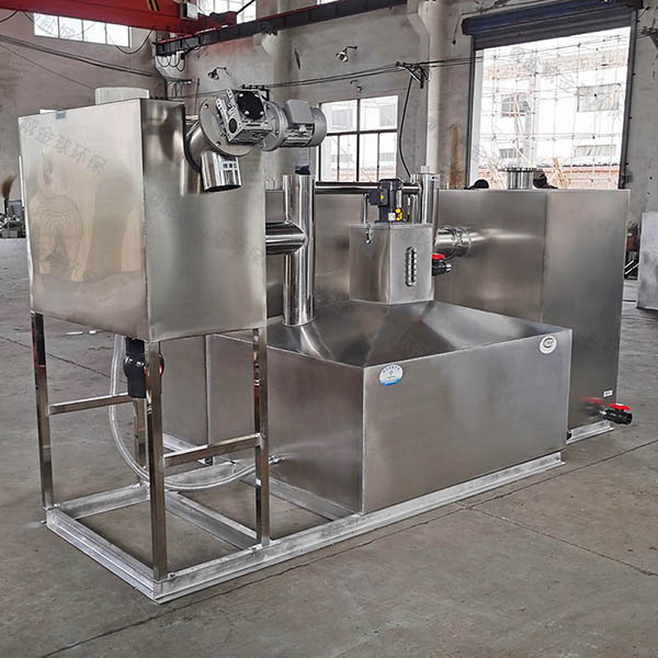 餐饮业大室外组合式隔油提升一体化生产厂商