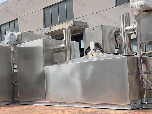 火锅地面式大型多功能油水分离器设备哪个厂家的好
