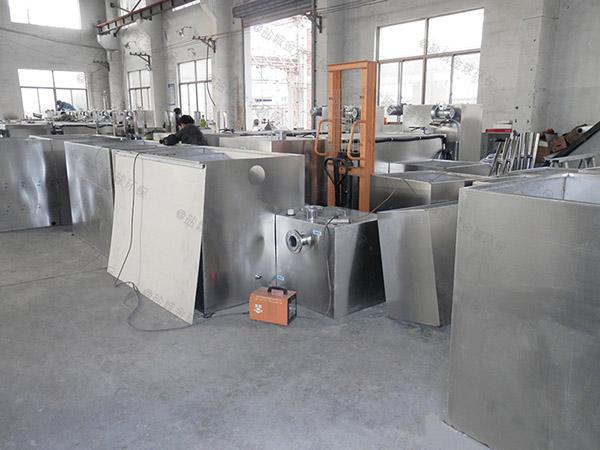 工厂食堂大地上式无动力除渣隔油器谁家好