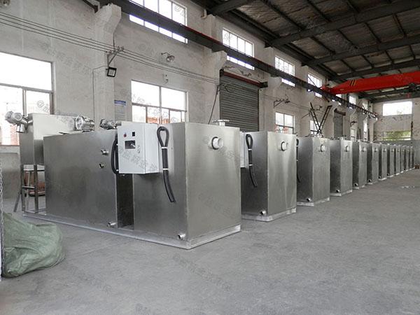 购物中心地下室自动化隔油池提升设备设计计算