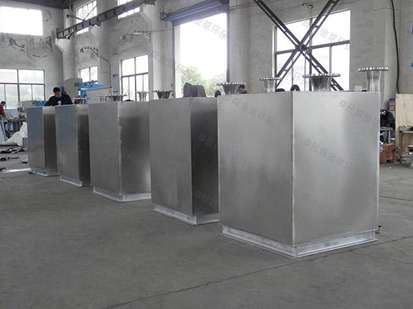 餐饮行业室内智能化排水隔油设备安装位置