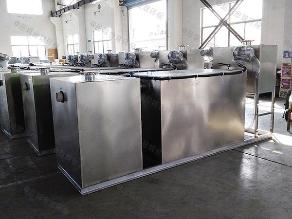 商业大型无动力油水固相分离装置结构图