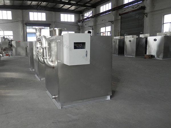 食堂用室外大型自动排水成品隔油池的结构