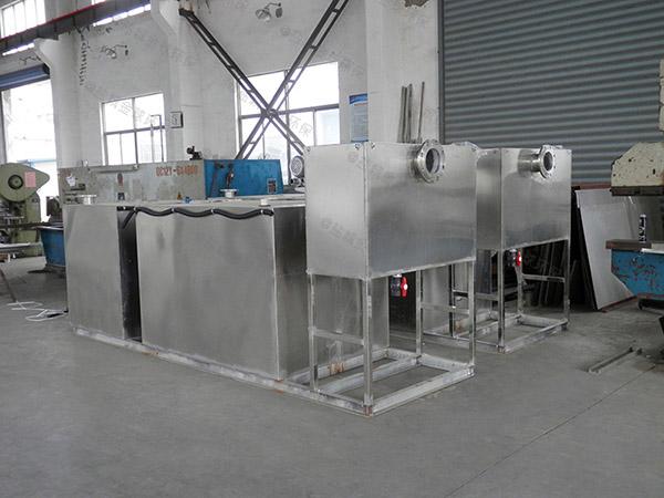 火锅大型地上移动式污水处理隔油设备规格型号