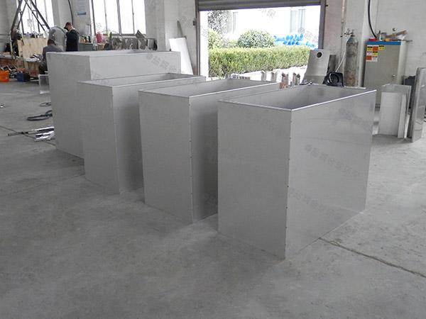 食堂用大型地下式组合式除油污水处理设备的维护