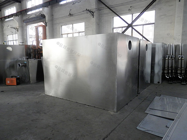 工地食堂大型地埋分体式污水隔油提升设备使用