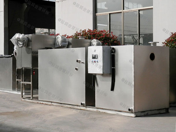 商业中小型室外简易不锈钢隔油设备的图集