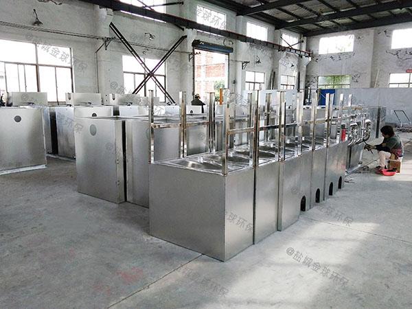 生活大型埋地式分体式不锈钢隔油池规格型号