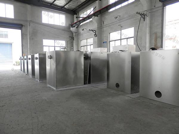 餐饮行业中小型地埋式自动化成套隔油设备工艺特点