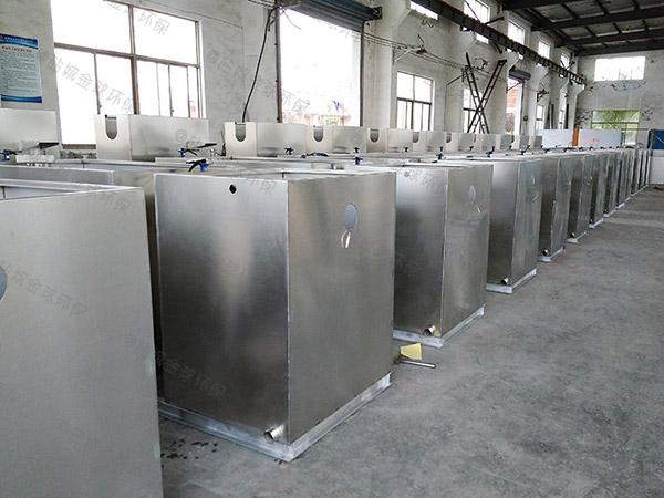 饭馆埋地式自动提升隔油一体化提升装置检测报告