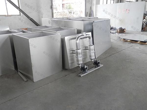 工程中小型简易不锈钢隔油池价格大约多少