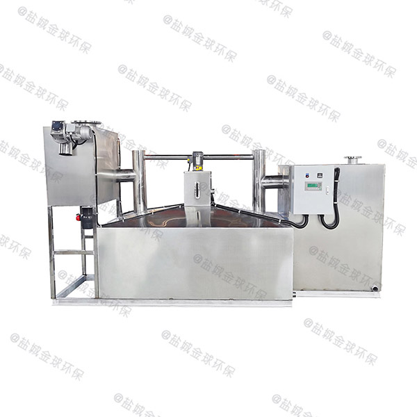 餐饮商户地下室自动排水一体隔油提升设备直产厂家