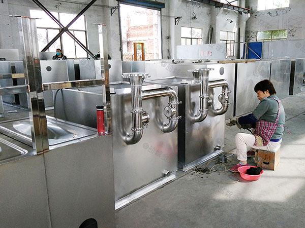 餐饮类大室内智能型水与油分离机器生产厂家