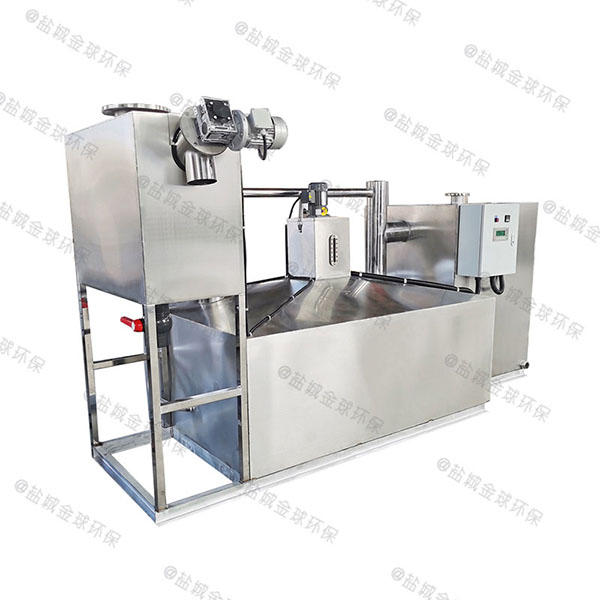 餐饮业地下式大型移动式不锈钢隔油设备型号选择
