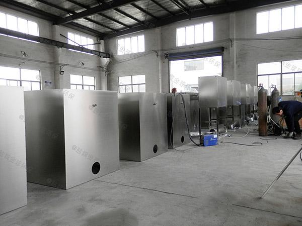 餐饮业地埋式多功能污水油水分离设备施工方案