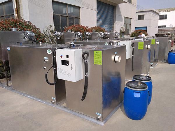 小饭店地面式全能型餐厨垃圾处理一体机制造标准