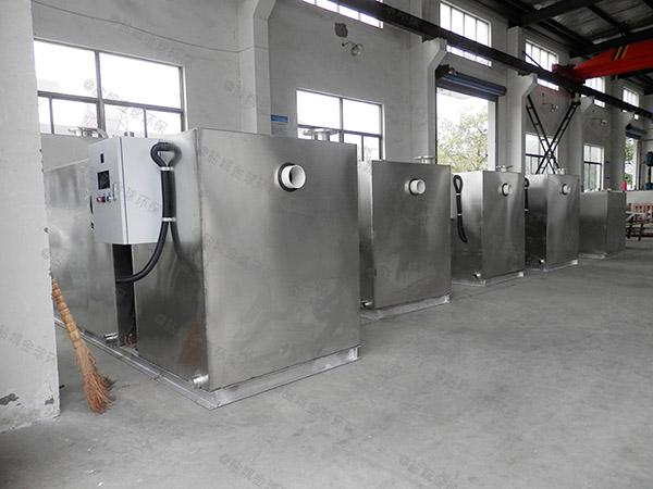 饮食业地下全能型排油设备定做