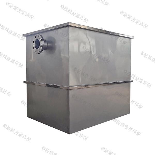 餐饮专用甲型混凝土隔油提升一体化装置简介