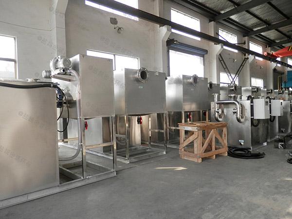 商家地上式移动式隔油污水提升设备供货商