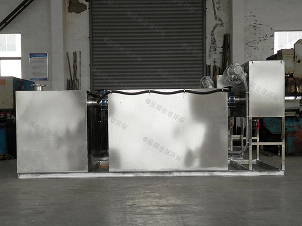 3.5米*1.35米*1.85米厨房自动化隔油器做法