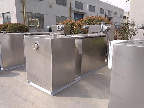 小区地下室移动式油水分离池出厂价格