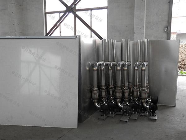 100人餐厨垃圾组合式餐厨垃圾油水分离设备结构