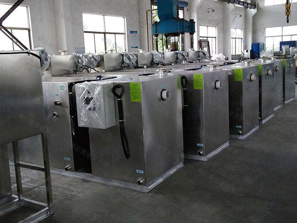 后厨2号隔油隔渣隔悬浮物隔油池设备排行