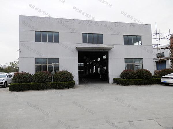 3.5米*1.35米*1.85米饭店自动化油水处理器厂商