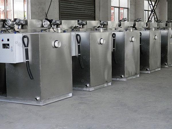 餐饮环保500人隔渣隔油净化设备施工方案