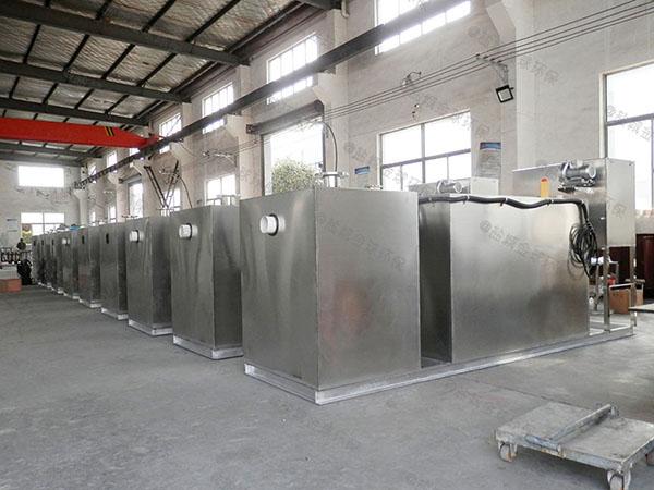 工地食堂30立方砖砌隔油处理器市场分析