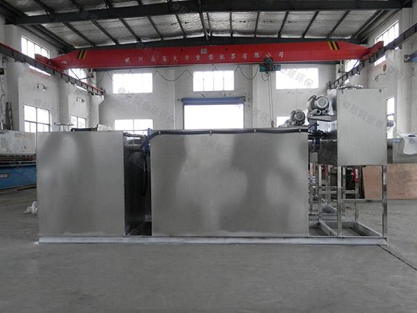 学校地上式无动力一体化隔油提升设备工厂