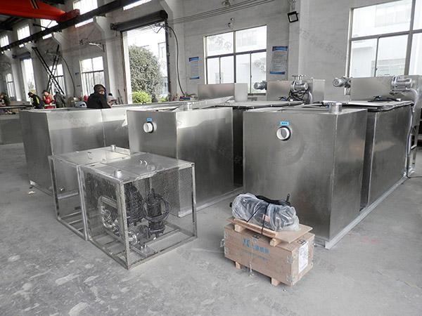 100人厨房自动除渣隔油提升一体化设备厂商