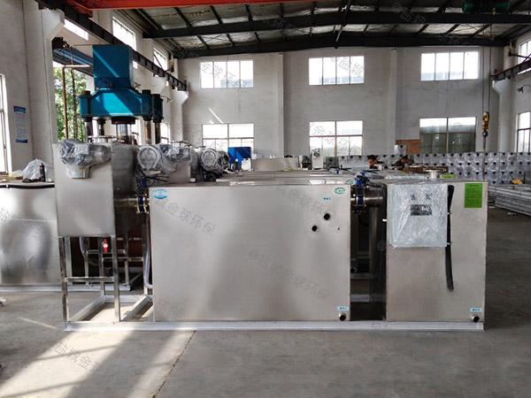 商业埋地式机械油脂分离机改造升级