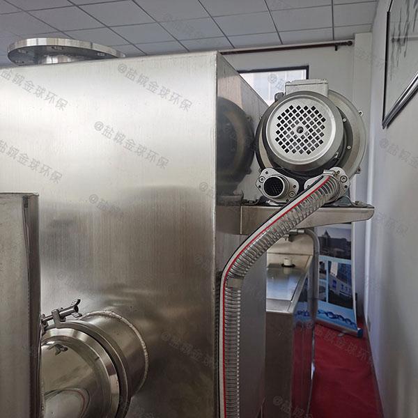 饭馆500人隔油隔渣隔悬浮物隔油一体设备调试方案