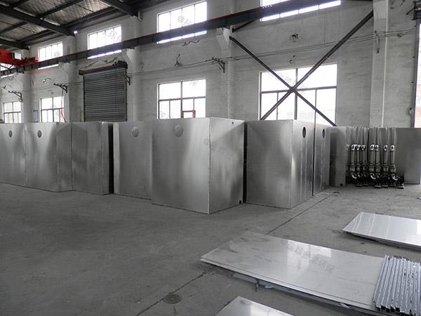 2.8米*1.2米*1.75米食堂自动刮油油水分离环保